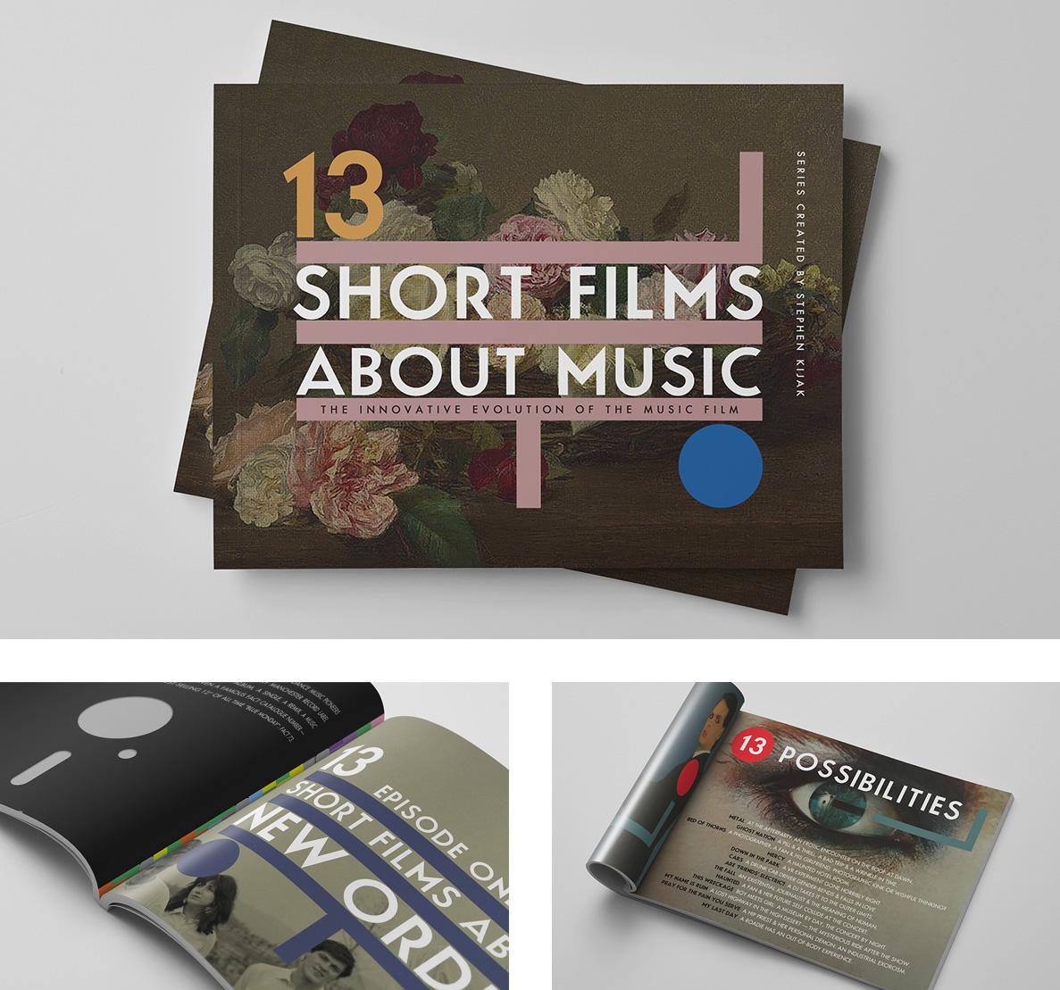 13 Short Films About Music Pitch Deck by Kristian Goddard for the Paradigm Talent Agency