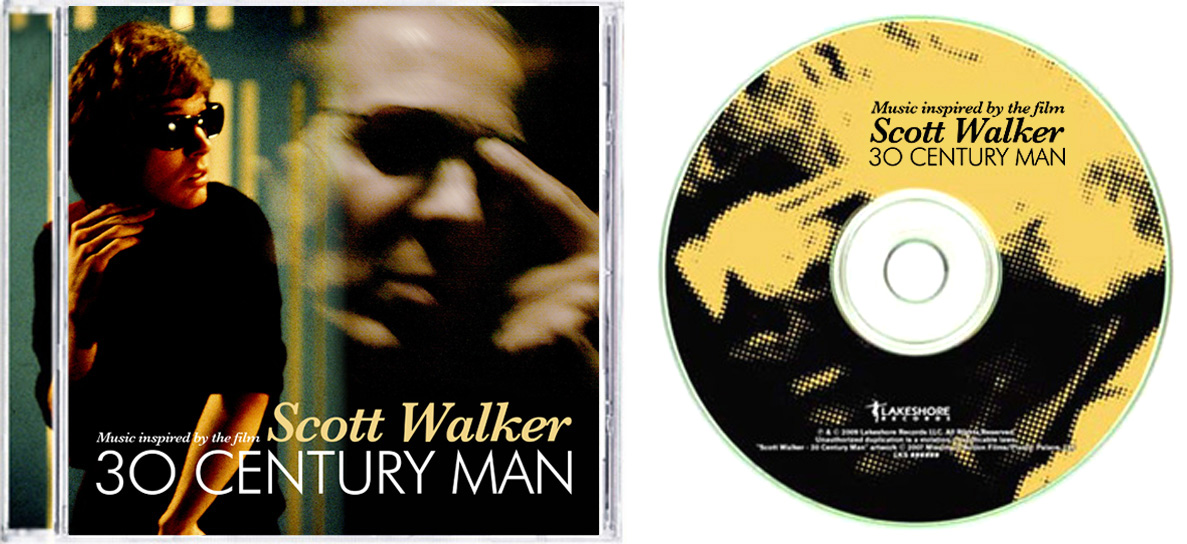 Scott Walker 30 Century Man Tribute CD on Lakeshore Records Designed by Kristian Goddard