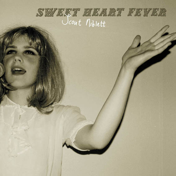 Scout Niblett 'Sweet Heart Fever' CD Cover